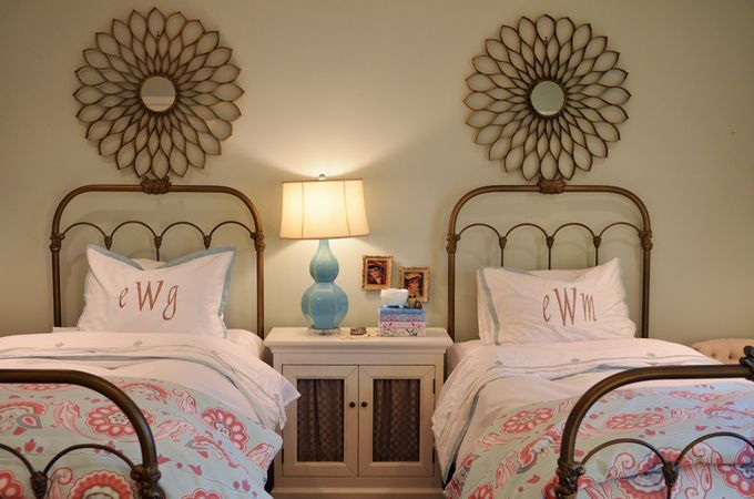 Great guest room idea