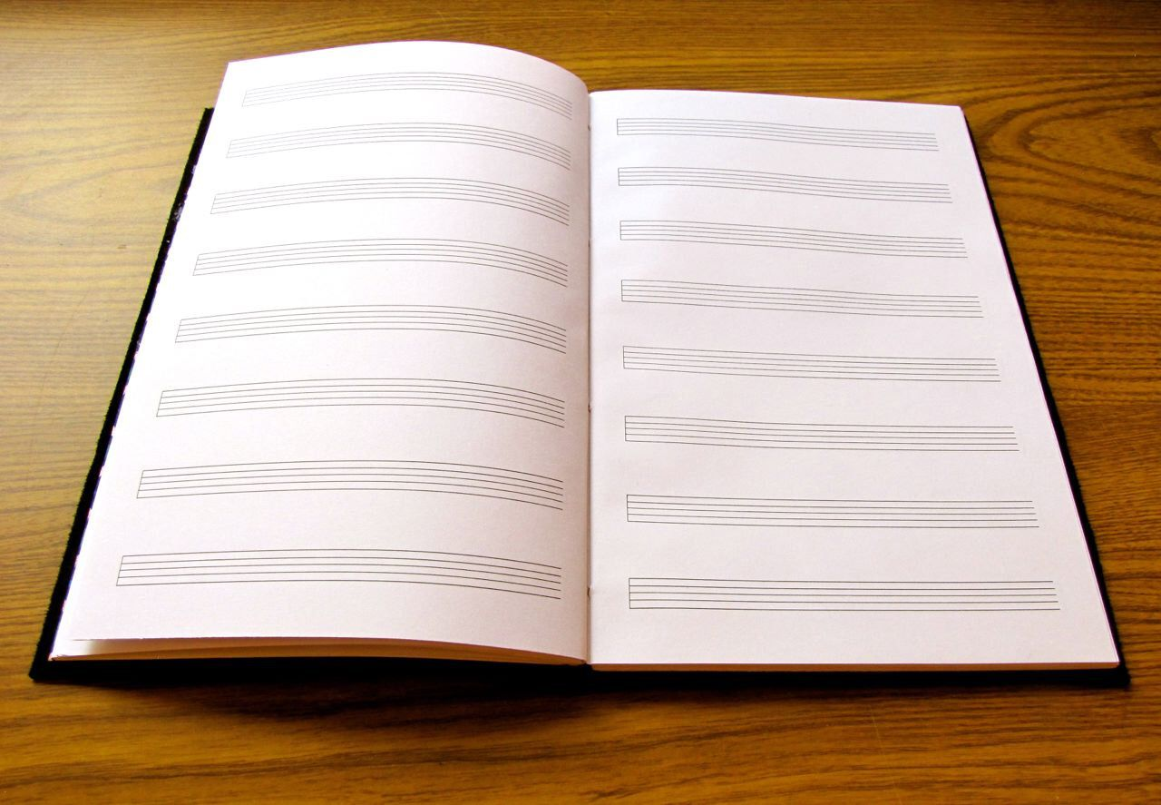 Build Your Own Custom Music Journal Personalized Musician Gift Staff Paper Composer Songwriter Manuscript Composi Music Journal Musician Gifts Work Out Lyrics