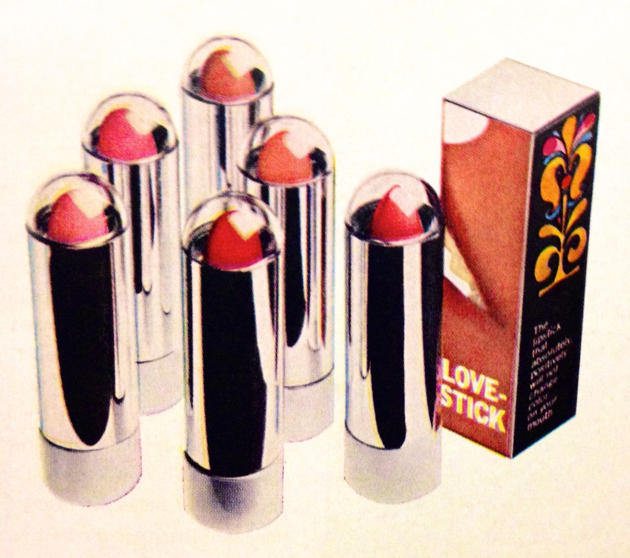 Love Cosmetics 'Sunlit Lovestick' Lipstick by Menley & James, 1969 |  Vintage cosmetics, Cosmetics and toiletries, Love cosmetics