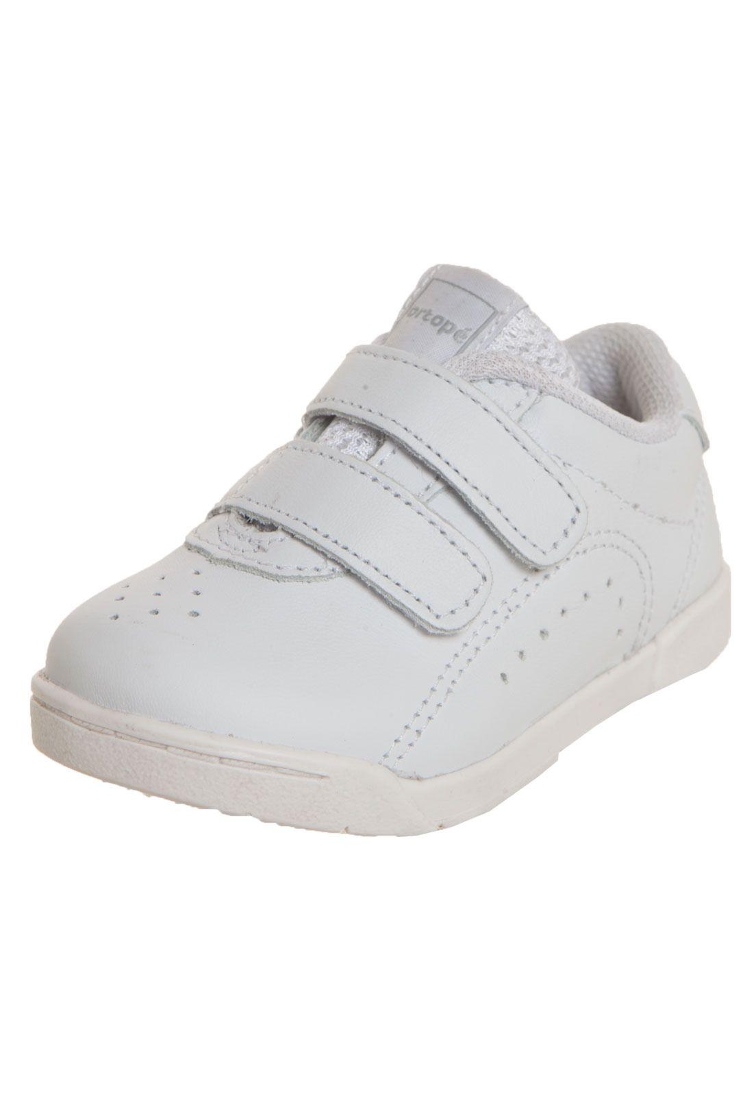 b67a6e30a1 Tênis Ortopé Miami Baby Branco - Compre Agora