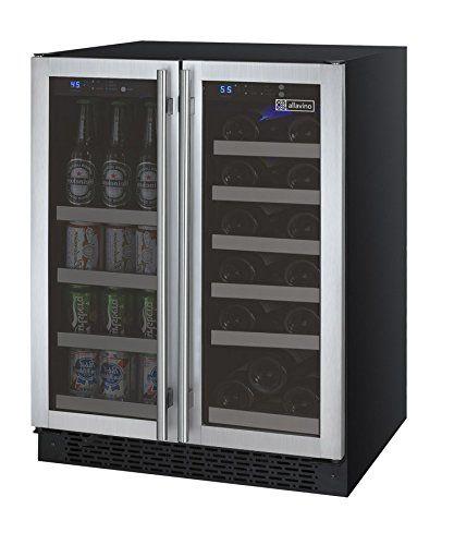 Built In Wine Cellars Allavino Vswb2ssfn 2 Door Wine Refrigeratorbeverage Center Ss Doors With Towel Bar Handles Be Sure To Chec Wine Cellars Wine Refrigerator Beverage Refrigerator Beverage Center