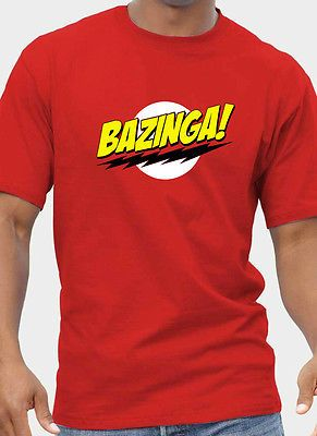 Mens + #womens big bang theory inspired #bazinga #t-shirt  up to 5xl  free uk pos,  View more on the LINK: http://www.zeppy.io/product/gb/2/181534055852/
