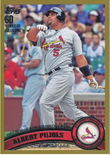 ⚾️ ⚾️ Albert Pujols #5 St Louis Cardinals (2001–2011