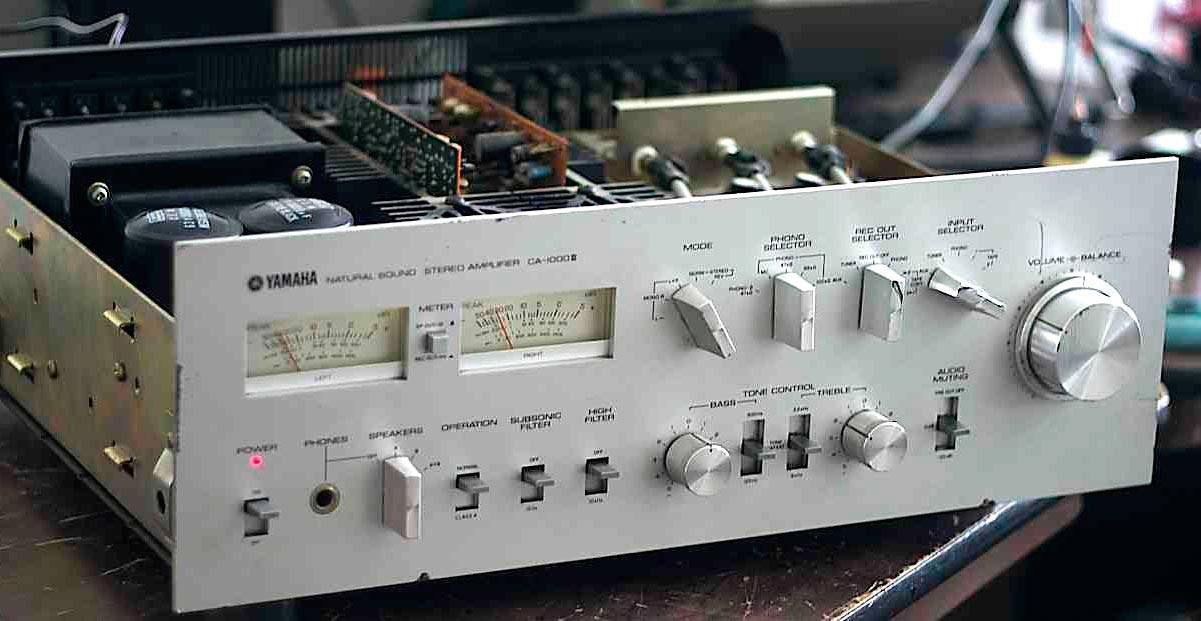 Yamaha Ca 1000 Pojacalo Audioservis Yamaha Audio Stereo