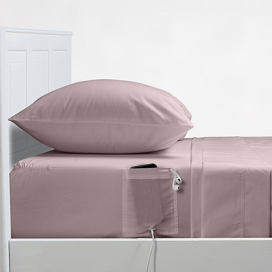Distinct Dorm 200 Thread Count Full Full Xl Sheet Set With Cell