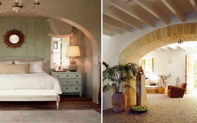 Decoraci n de casas con arcos fachada de casa for Decoracion casa original