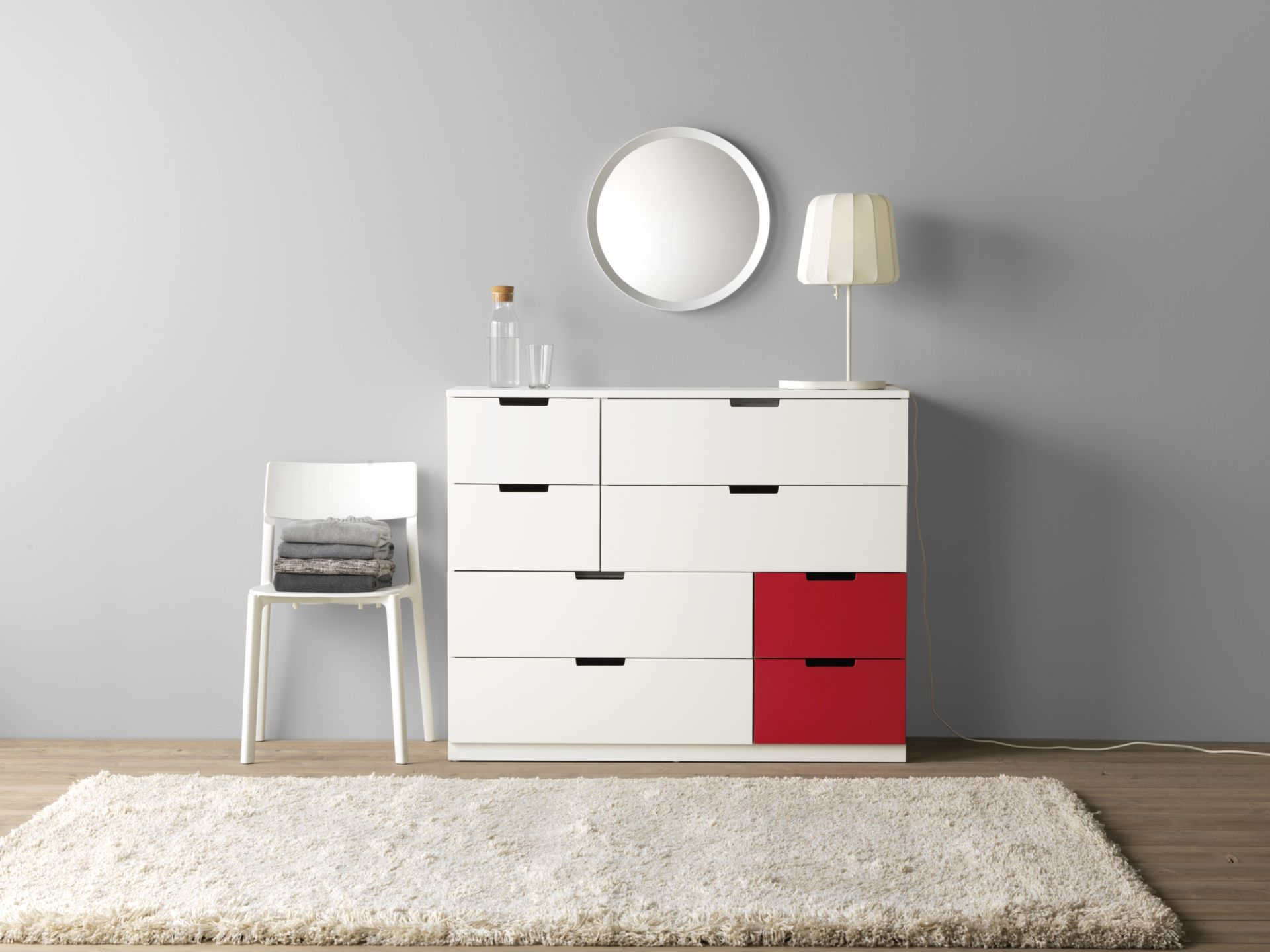 NORDLI ladekast met 8 lades | #IKEAcatalogus #nieuw #2017 #IKEA ...