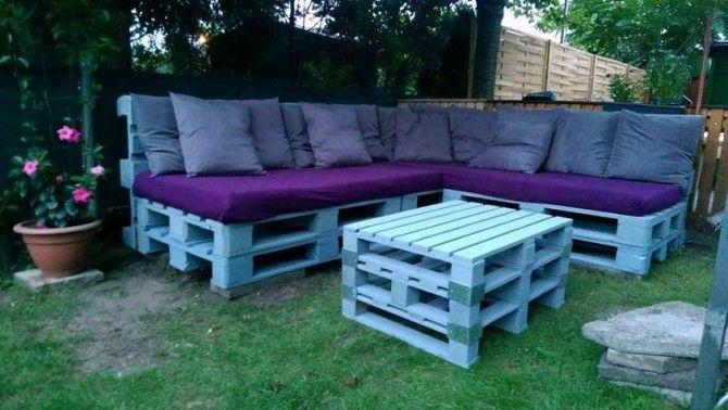 Garden Furniture From Wooden Pallets wooden pallets garden furniture | crafts | pinterest | gardens
