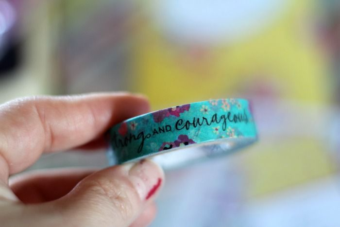 a heart that recieves washi tape