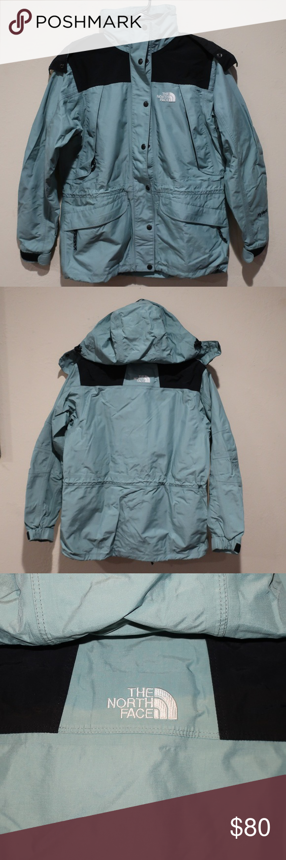 Vintage 06 The North Face Hyvent Jacket Wmns Sz S North Face Hyvent Jacket North Face Hyvent Jackets [ 1740 x 580 Pixel ]
