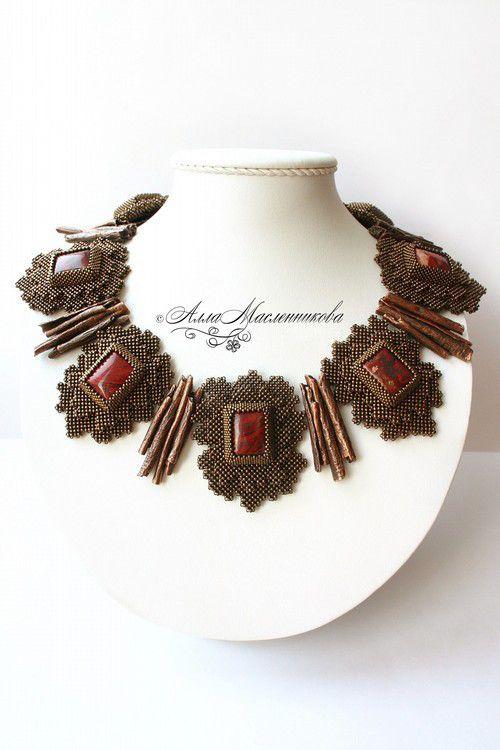Magic jewellery by Alla Maslennikova | Beads Magic
