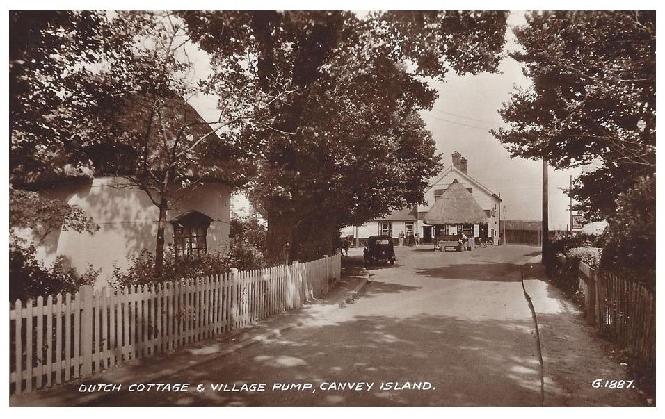 Dutch Cottage And Village Punmp Canvey Southend On Sea Island Village