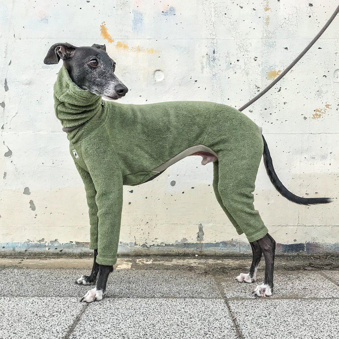Italian Greyhound Clothing Fleece Jammies Jumpsuit Romper Onesie