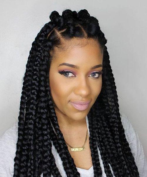 r sultat de recherche d 39 images pour braids grosses tresses africaines pinterest. Black Bedroom Furniture Sets. Home Design Ideas