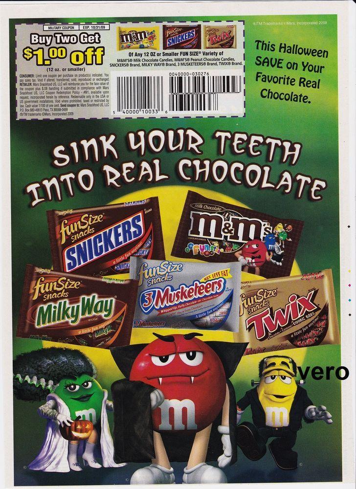 2009 magazine ad mms halloween chocolate mms mm print sink - Mms Halloween