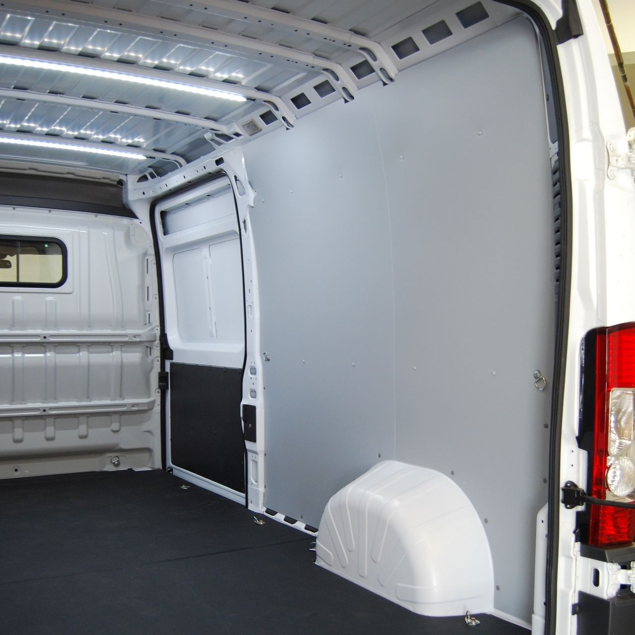 Vinyl Floor For Van Conversion In Our Chevy Express Chevy Van