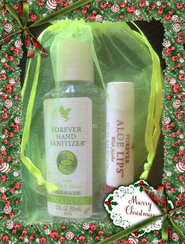 Handbag Essentials Forever Hand Sanitizer Aloe Lips So Simple