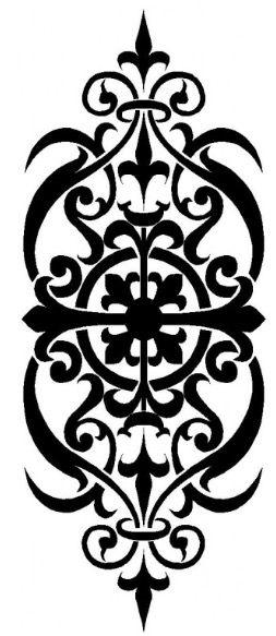 Scrollsaw Workshop: Lovers Mini Clock Scroll Saw Pattern.