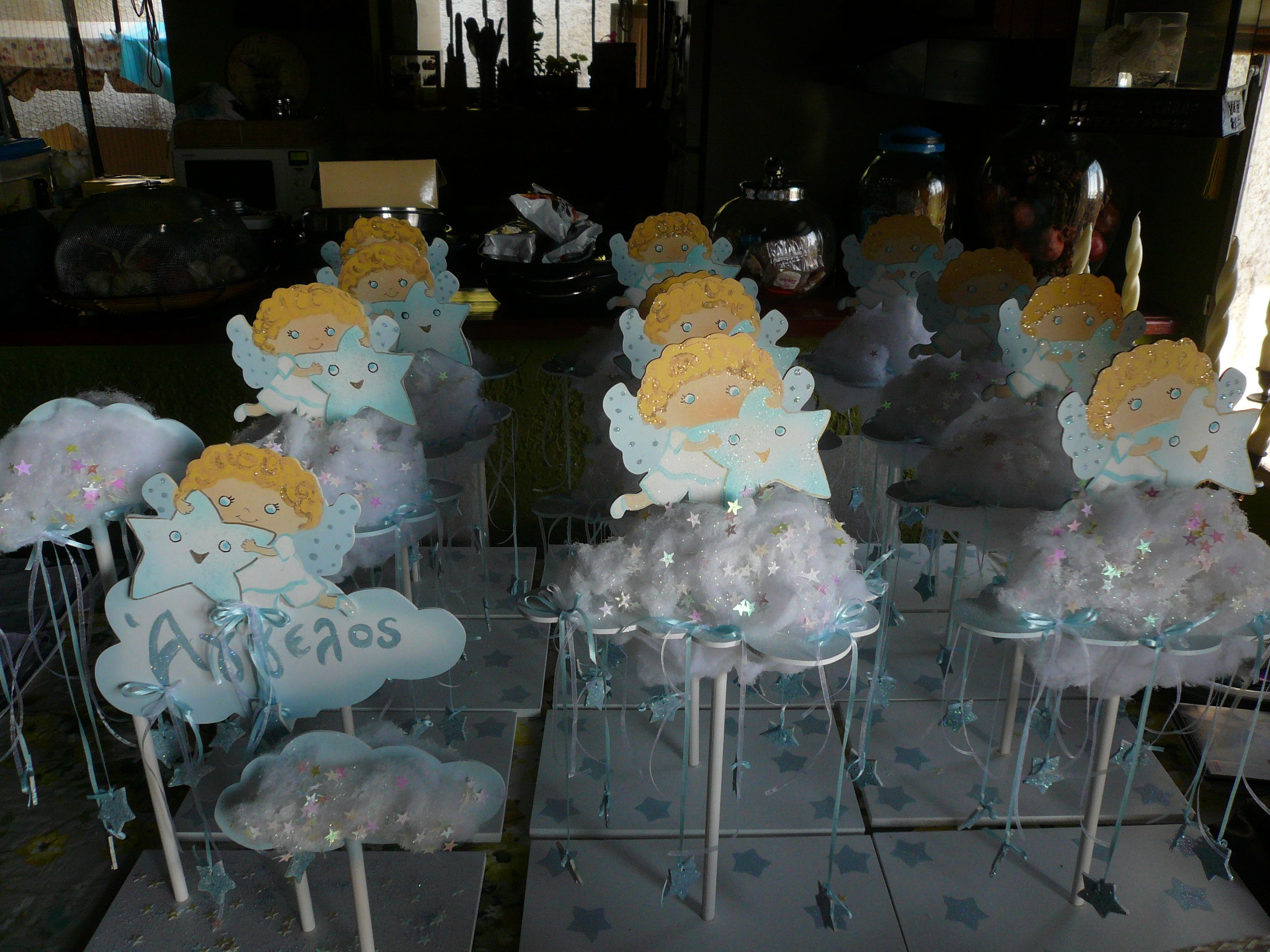 Hand Made Baptism Angel Party Theme Party Themes