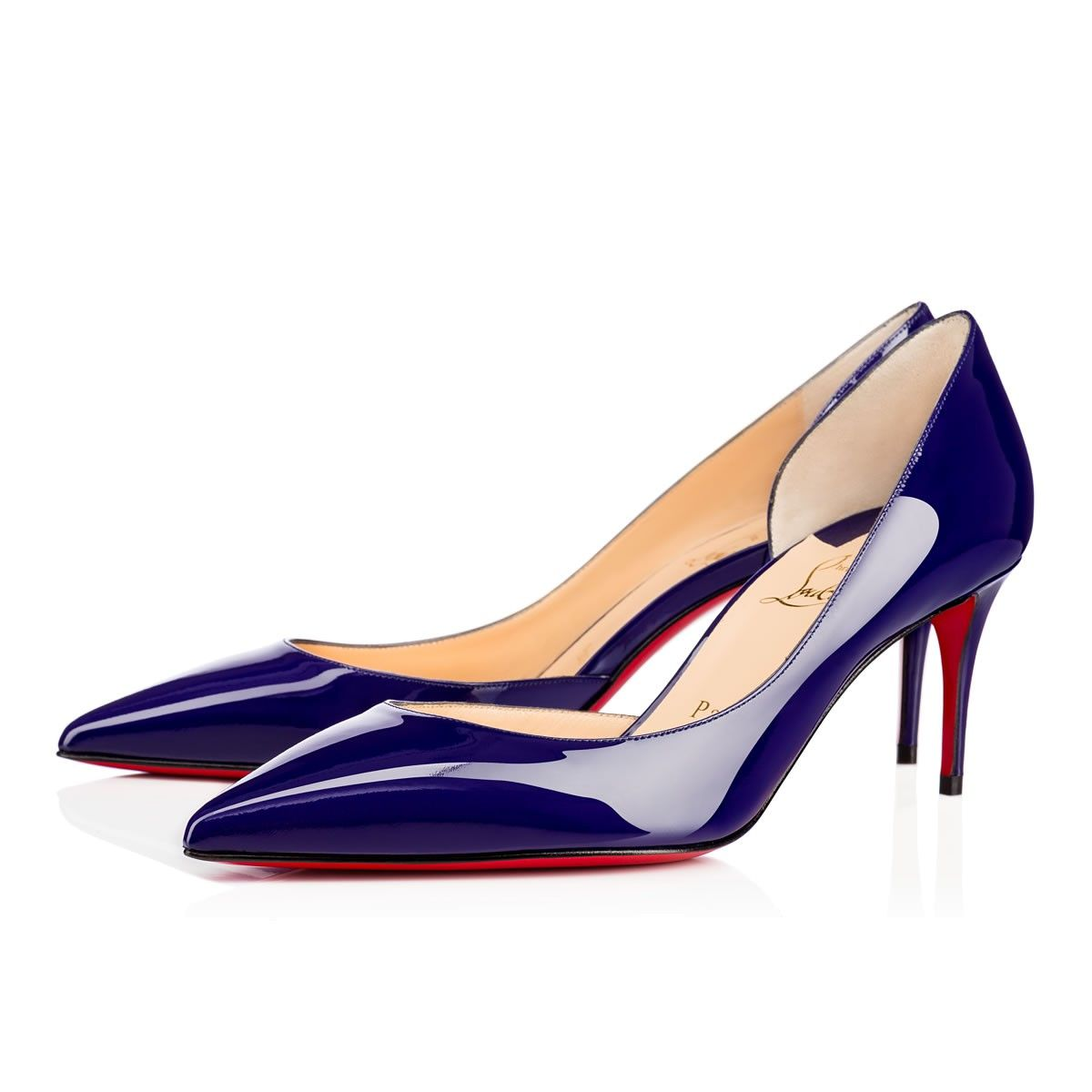 CHRISTIAN LOUBOUTIN Iriza 70mm Encre Patent Leather.  christianlouboutin   shoes   352a52648f