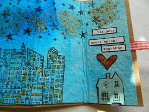 How to Make an Accordion Book with your own style