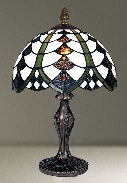 COLLECTION OF GLASS SMALL SIZE TIFFANY STYLE HANDCRFT TABLE LAMPS CHRISTMAS GIFT | eBay