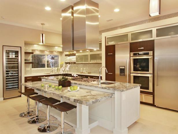Ilha de Cozinha (4)  Cozinha  Pinterest  Ilhas de cozinha, Ilhas e Cozinha # Ilha Quente Cozinha