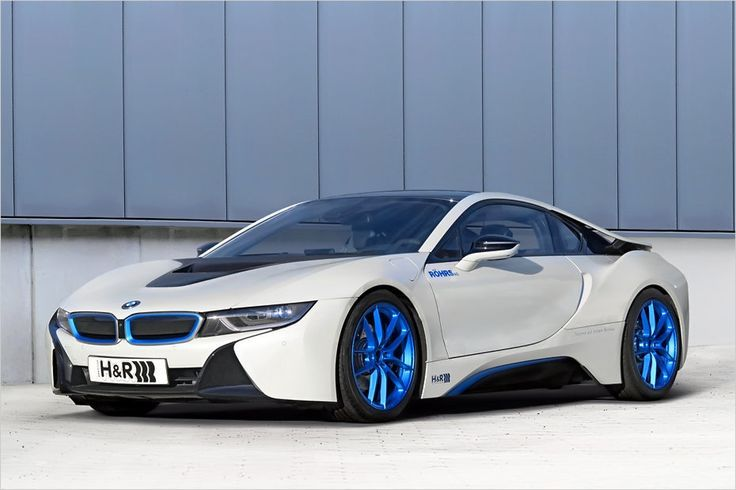 Bmw I8 Electric Future Car Sports Photos White