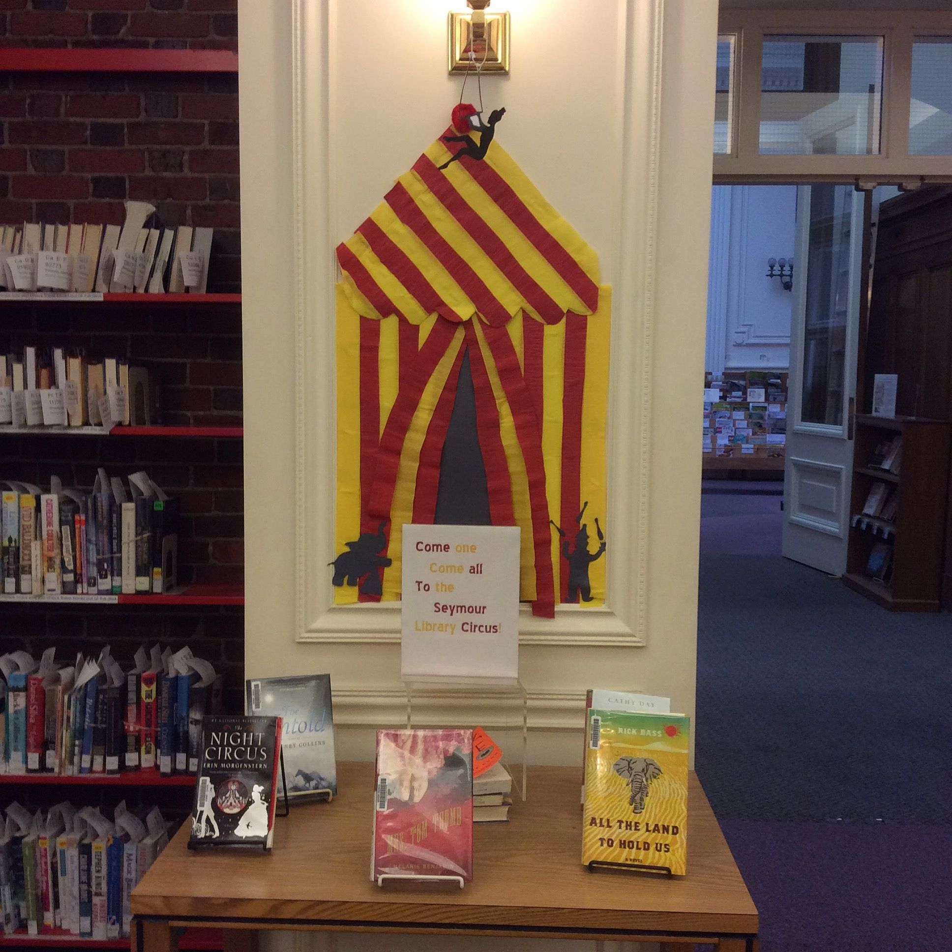 Circus book display @ Seymour Library. | Our Library Displays ...