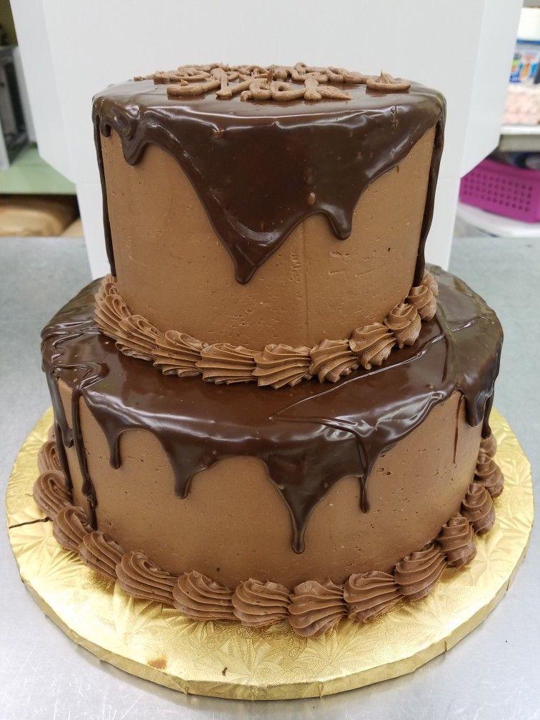 Chocolate fudge drip cake birthday tier cake cake drip