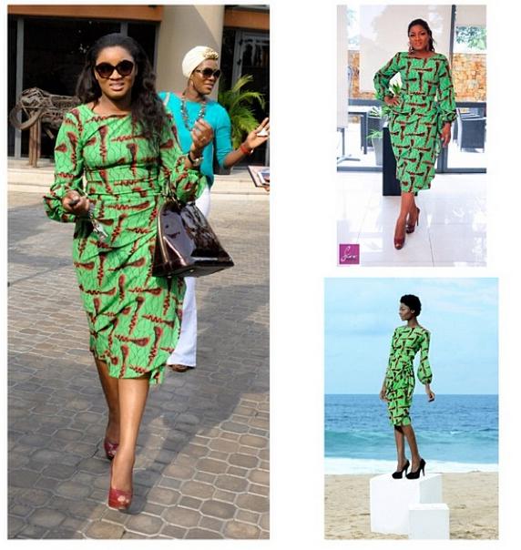 Altar Ego Wedding: » FAB Fashion: Omotola Jalade Ekeinde Is Stunning In An