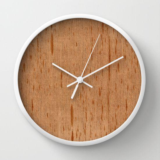 Cedar Spanish Wood Wall Clock