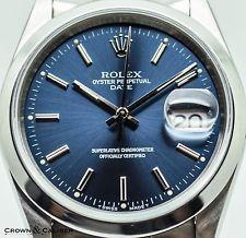 Midnight blue dial men's Rolex