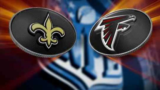 Watch Falcons vs Saints live