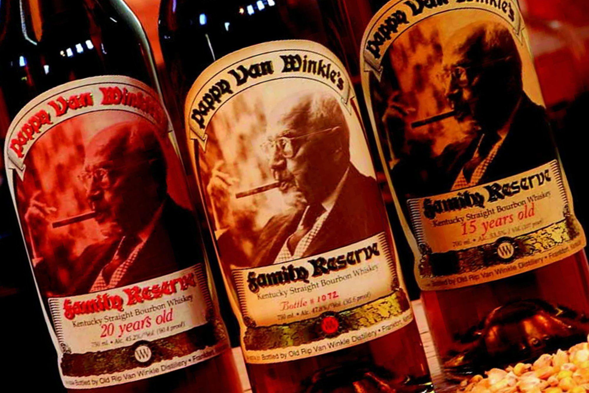 The Hunt For Pappy Van Winkle Whisky Bourbon Straight Bourbon
