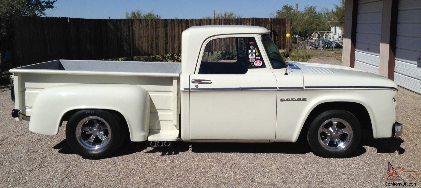 Complete 66 dodge stepside truck bed for sale