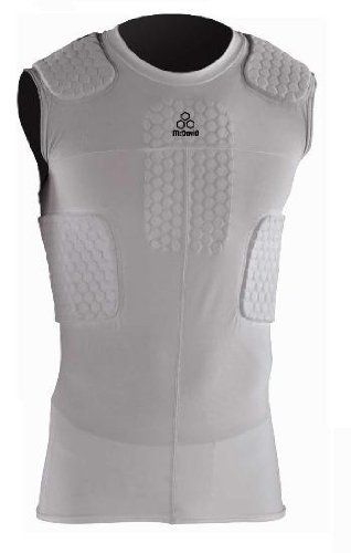 b5a59428 McDavid Hex Pad 6 Pad Sleeveless Body Shirt, Large by McDavid. $68.13.  McDavid