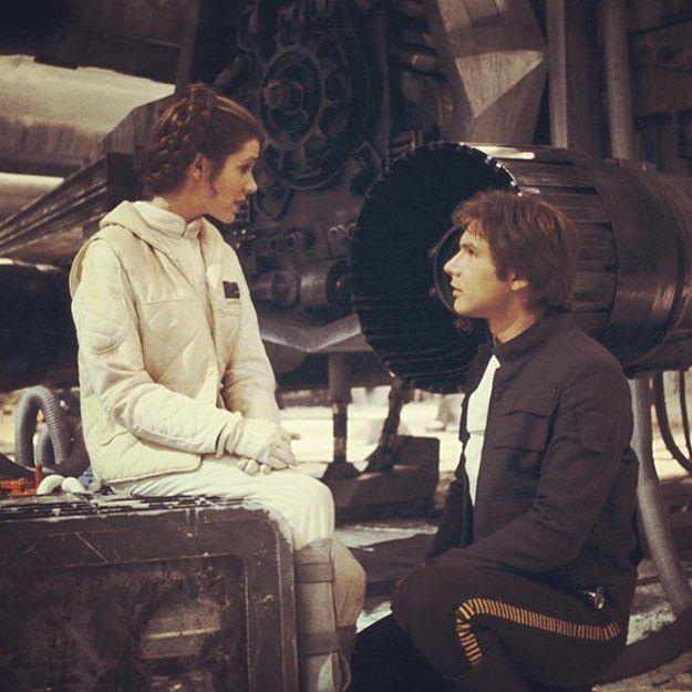 Han & Leia.@starwars by: @starwarsdaily