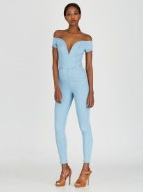2620a020499f SISSY BOY Huntress Short Sleeve Jumpsuit Pale Blue