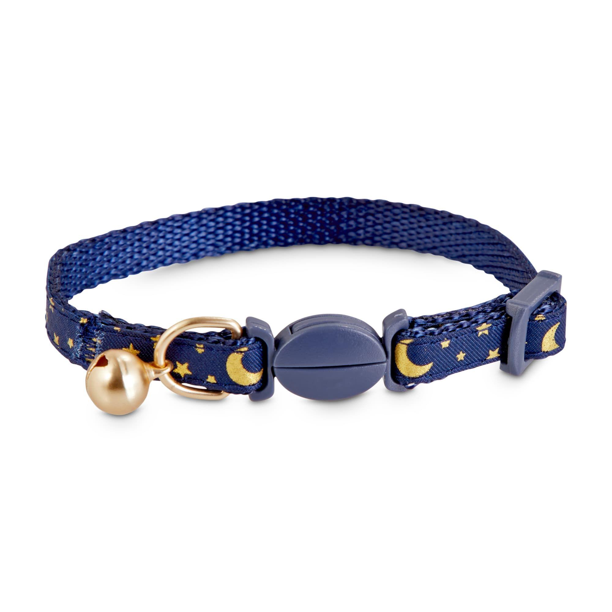 Bond Co Moon Star Breakaway Kitten Collar Petco In 2020 Kitten Collars Kitten Accessories Cat Accessories