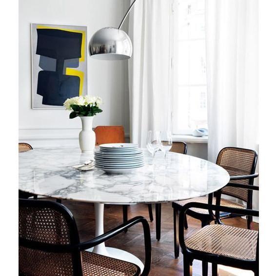 Marble Tulip Dining Table Decoracion De Comedor Mesas De Comedor De Marmol Mesas Con Marmol