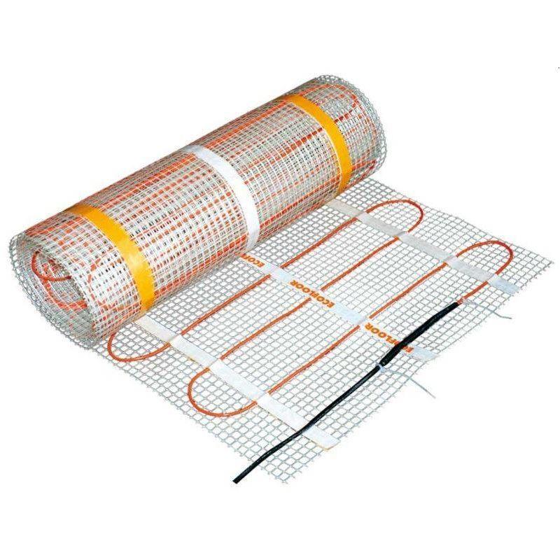 Chauffage De Confort Par Sol Rayonnant Sous Carrelage Kit Matt 160w M 560 W Sud Rayonnement In 2020 Underfloor Heating Electric Underfloor Heating Clothes Hanger