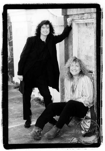 Robert Plant  Jimmy Page | Led Zeppelin put in a nice frame....awesome