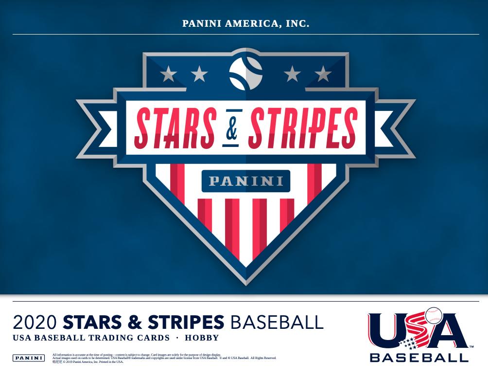 2020 Panini Stars Stripes Usa Baseball Checklist Boxes Release Date Stars And Stripes Baseball Baseball Picks Usa Baseball