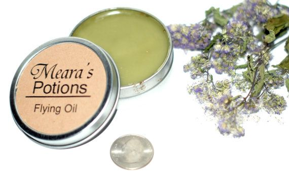 Meditation Flying Oil Salve - Calming Relaxing Scented Herbal