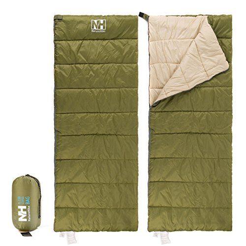 Naturehike Camping Sleeping Bag Outdoor Ultralight Envelope Army Green