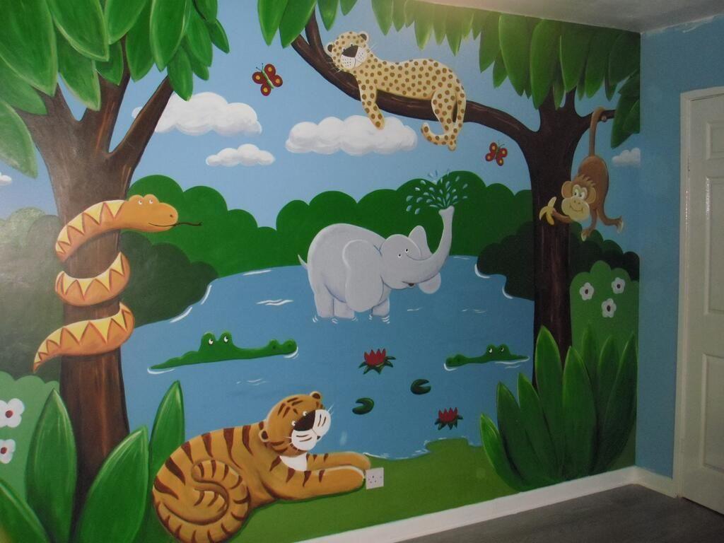 Custom Murals On Crafts Kids Room Murals Murals For Kids