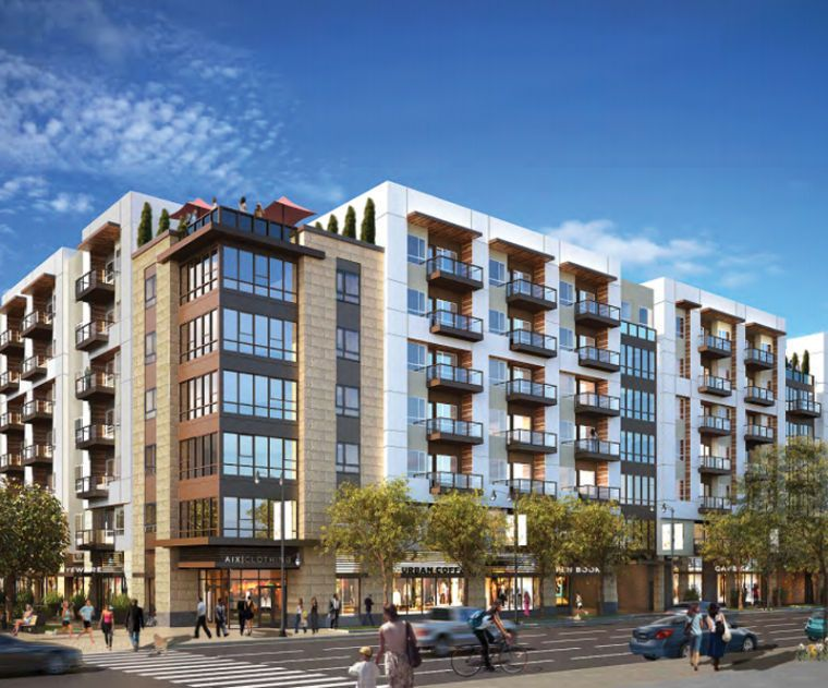 The Miami Based Developer Lennar Intends To Build A 201 Unit Apartment Complex On The Southwest Corner Of Oly Multi Storey Building Building Building Elevation