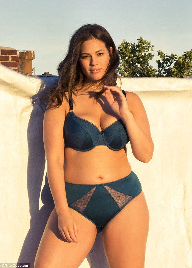 plus-size ashley graham wants to be a 'curvier version' of heidi