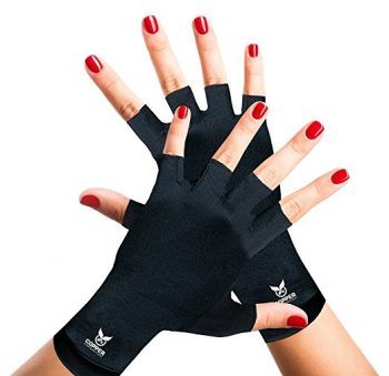 ad28cff731 Top 10 Best Arthritis Gloves in 2018 Reviews shown here: Arthritis Gloves  by Copper Compression Gear